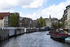 Bloemenmarkt Landscape Amsterdam Holland