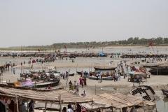 Allahabad Triveni Sangam Landscape Uttar Pradesh India