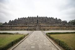 Borobudur Temple Landscape Java Indonesia
