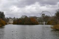 Saint James Park Landscape London England