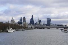 The City Landscape London England