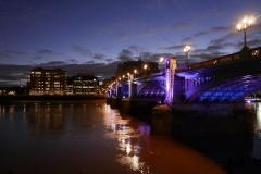 London Bridge Night Landscape London England