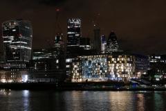 The City Lights Night Landscape London England