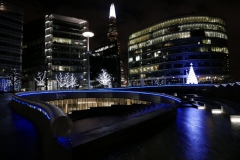 The Scoop Night Landscape London England