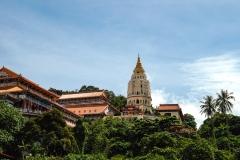 Kek Lok Si Temple Landscape Penang Malaysia