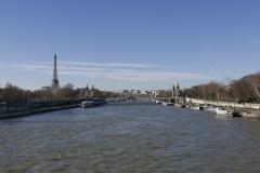 Alexandre III Bridge Landscape Paris France