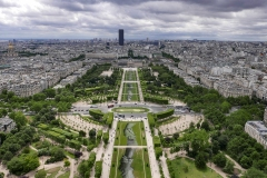 Parc du Champ de Mars Landscape Paris France