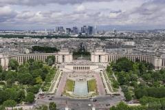 Trocadéro Landscape Paris France