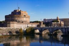 Sant'Angelo Castel Landscape Rome Italy