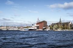 Vasa Museum Landscape Stockholm Sveden