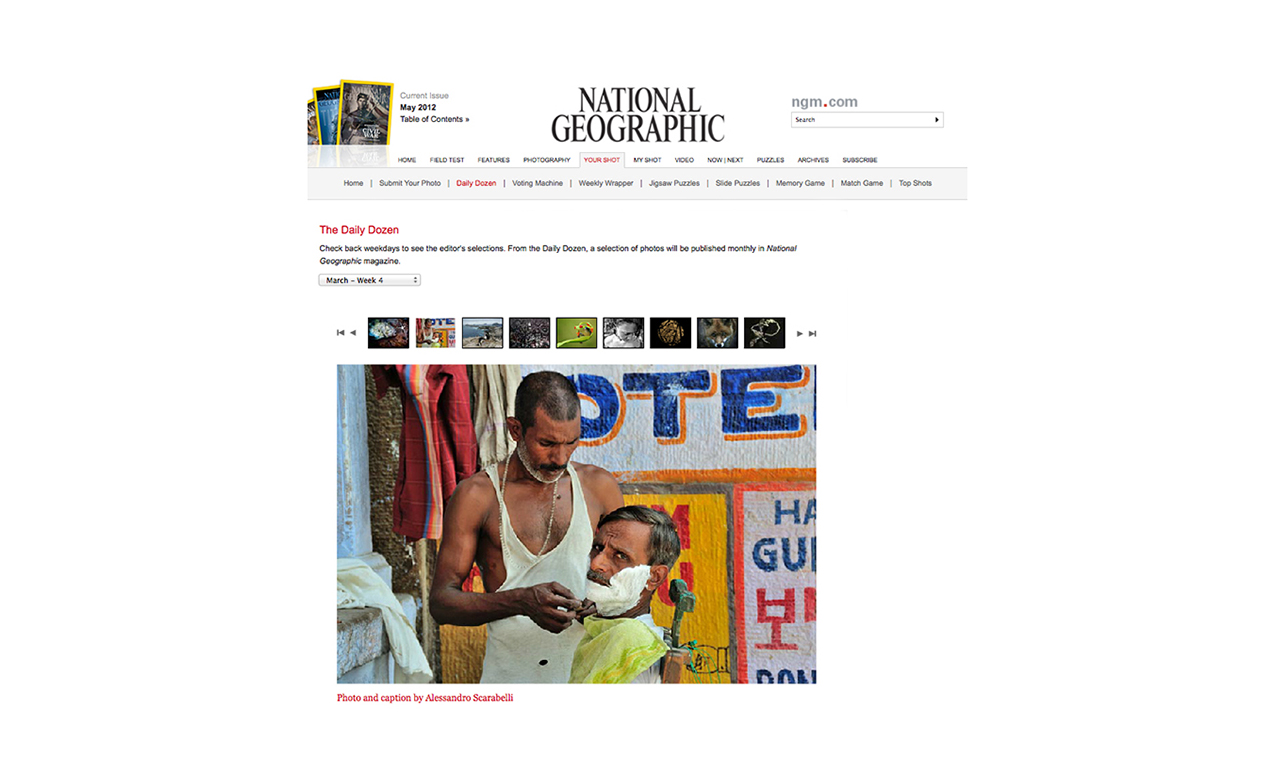 National Geographic Photo of the Week India