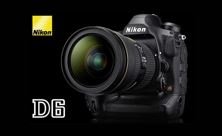 I Am Nikon D6