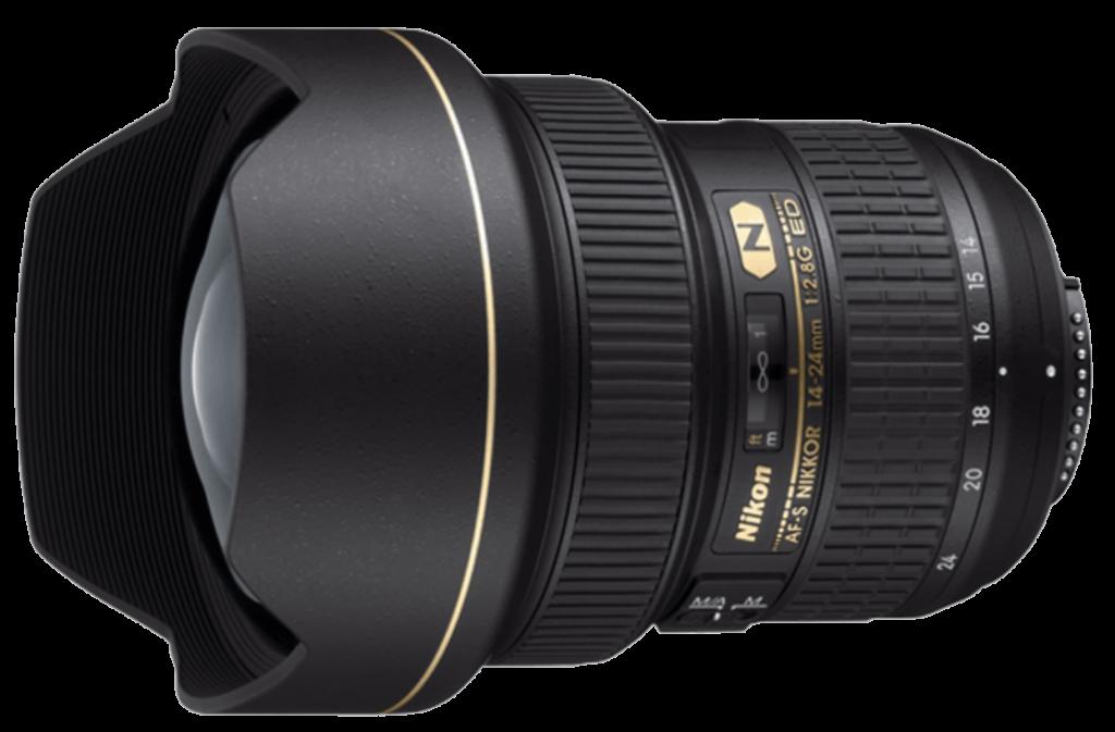 Nikon AF-S Nikkor 14-24mm. f/2.8 G ED