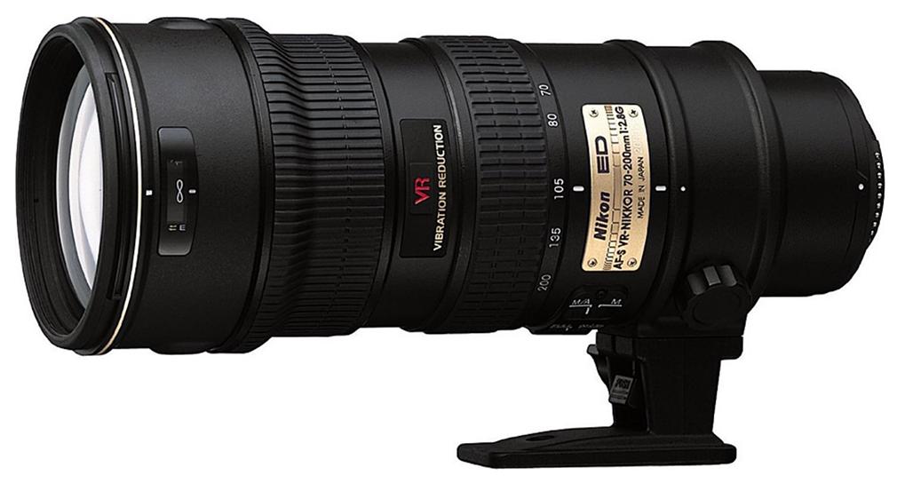 Nikkor 70-200mm. f/2.8 ED IF VR G